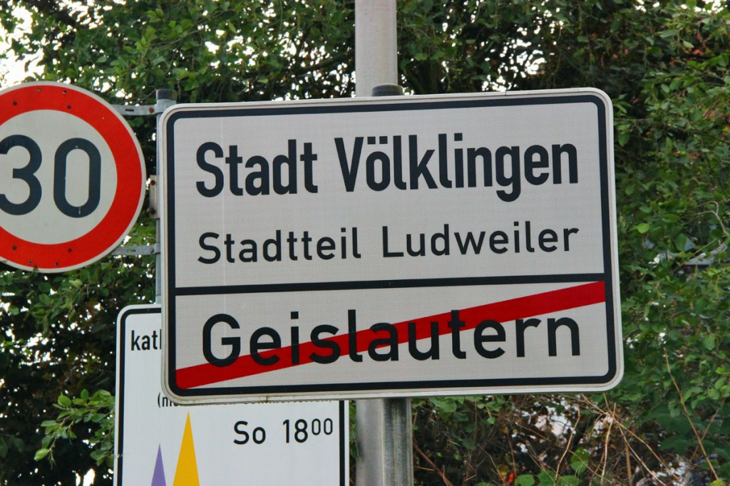 Der Völklinger Stadtteil Ludweiler. (Foto: Hell)
