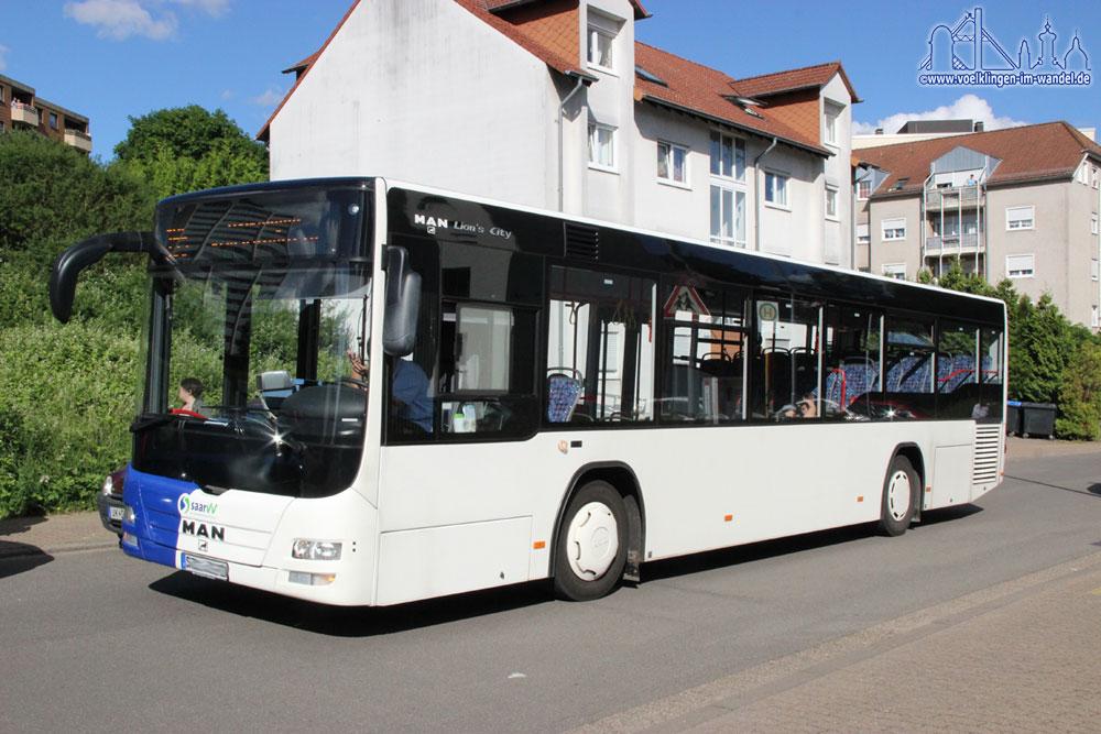 Ein Bus in Völklingen (Symbolfoto: Hell)