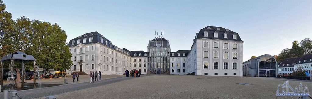 Das Saarbrücker Schloss ist Sitz des Regionalverband Saarbrücken (Foto:Hell)