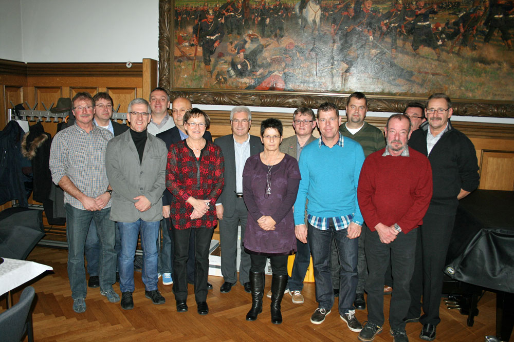 Jubilare  der Stadtverwaltung Völklingen (Foto: Stadt)
