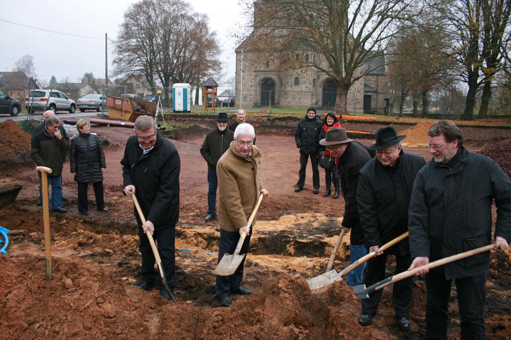 Baubeginn: Neugestaltung in Lauterbach beginnt