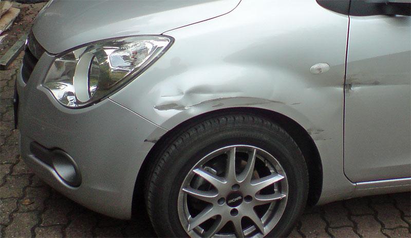 Unfall auf den Straßen Völklingens (Symbolfoto)
