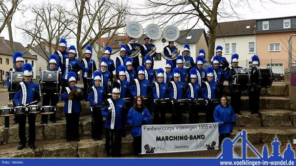 Die Marching-Band Völklingen des Fanfarencorps Völklingen 1955 e.V.