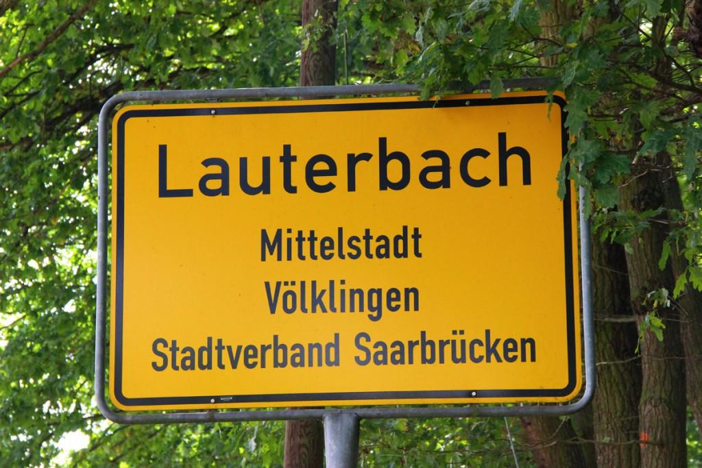 Lauterbach, Grenzort zu Frankreich (Symbolfoto: Hell)
