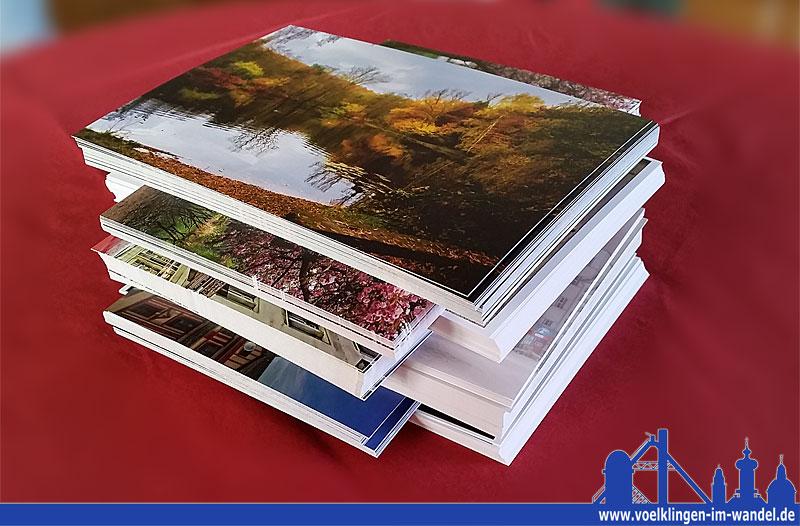 Postkartenwettbewerb 2015: Der Stapel wurde höher als geplant! Es gab sieben statt nur vier Gewinner (Foto:Hell)