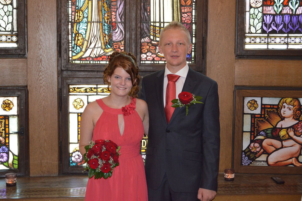 Jennifer und Johannes Lelekow (Foto: Privat/PM Stadt)