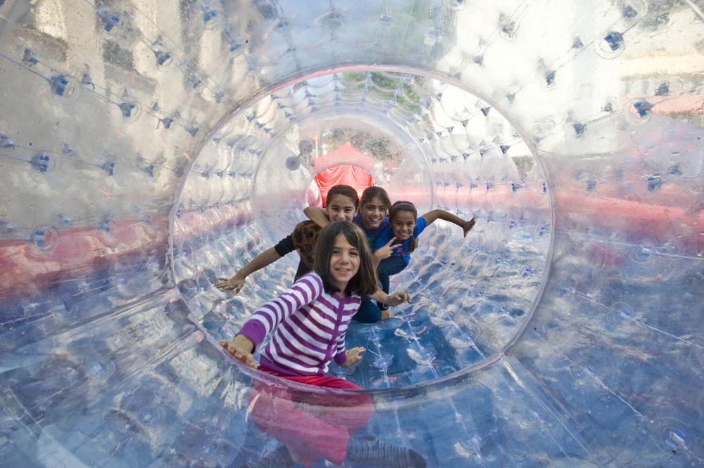 Diese Kinder haben wohl auch in diesem Jahr Spaß (Foto: Stadt VKL)