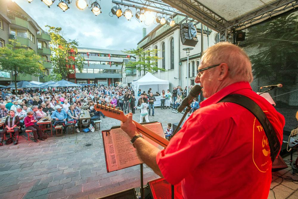 Immer gut besucht: Die Cityopen-Airs in der Völklinger Innenstadt (Foto: Stadt VKL)