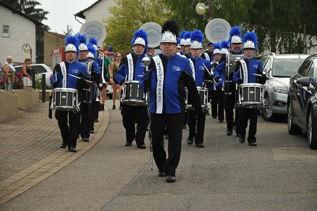 Die Marching-Band des Fanfarencorps Völklingen ist wieder unterwegs. (Foto: Verein)