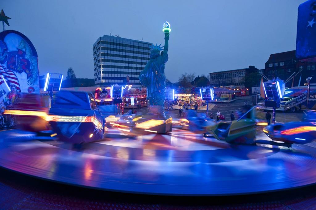 Kirmes Samstag Abend in Völklingen von 2012 (Foto: Stadt VKL; Jenal)