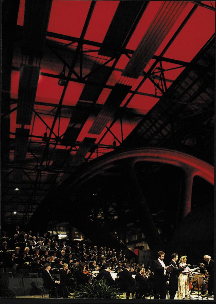 Konzert mit Prof. Leo Kraemer in der Gebläsehalle des Weltkulturerbes Völklinger Hütte Copyright: Weltkulturerbe Völklinger Hütte/Rolf Ruppenthal