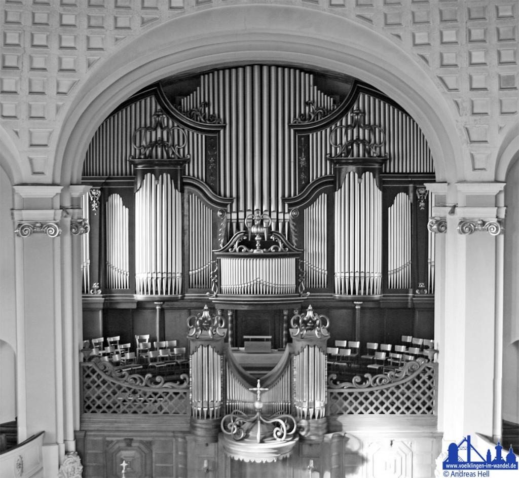 Die Orgel der Versöhnungskirche Völklingen (Foto: Hell)