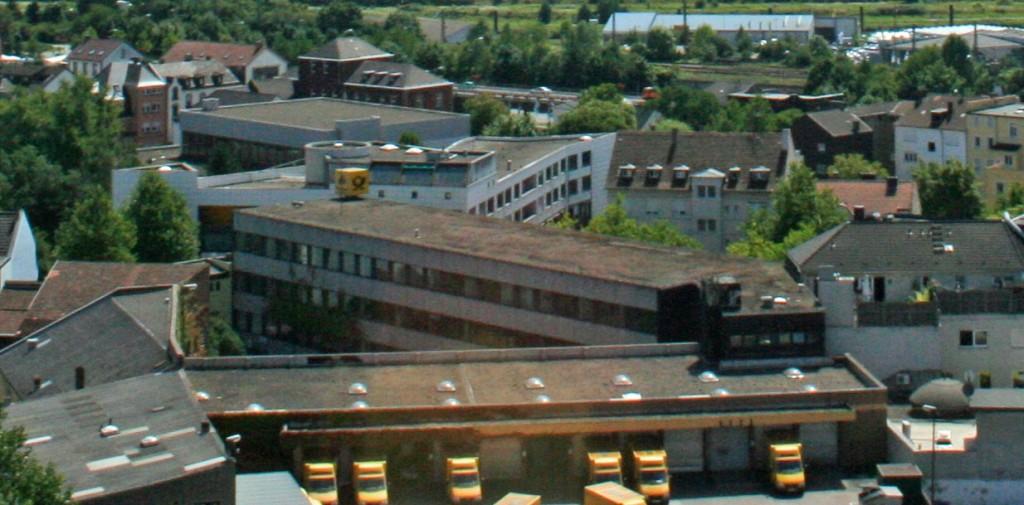 Das Gebäude der Post gehört nun der Stadt Völklingen (Foto Hell)