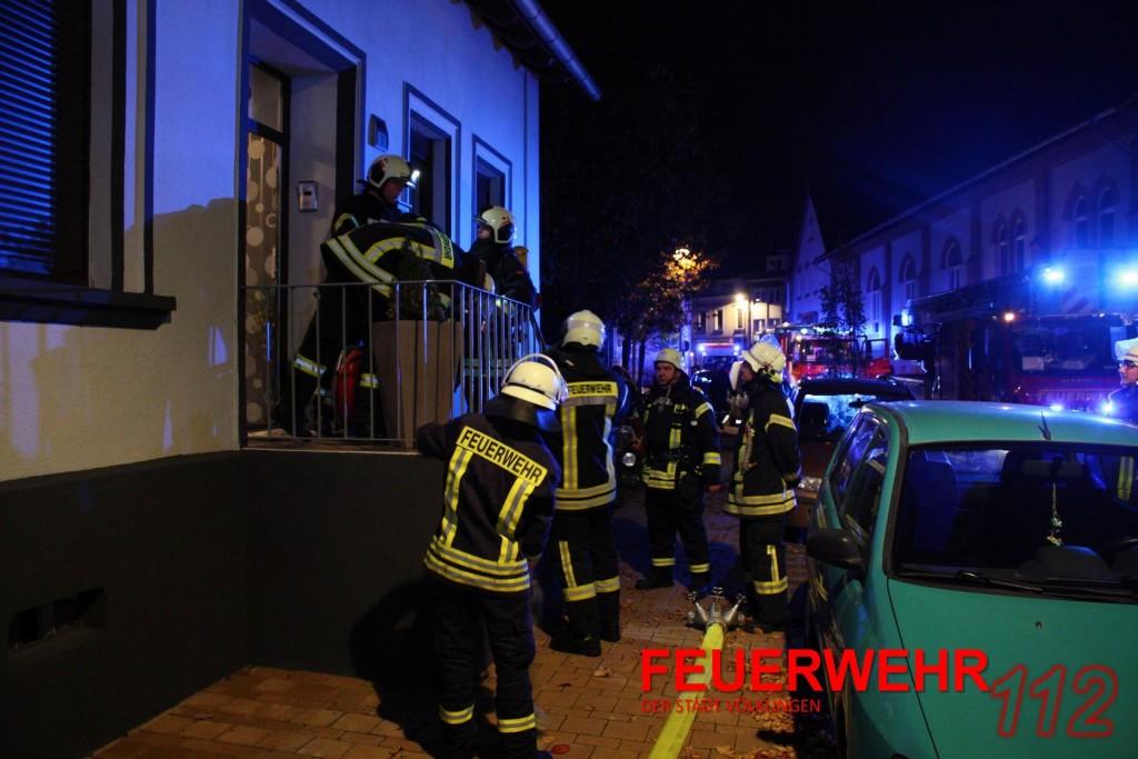 Spühlmaschinenbrand in Wehrden ging gut aus (Foto: FFW VKL)