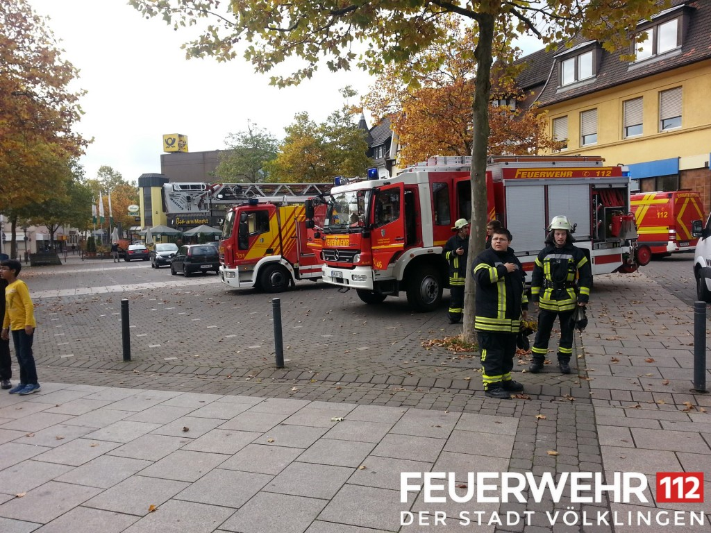 Die Brandmeldeanlage im Rathaus spielte der Feuerwehr einen Streich (Foto: FFW)