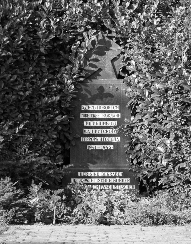 Ausländergedenkstätte auf dem Waldfriedhof