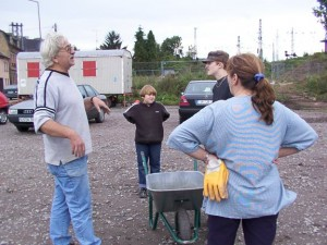 Einige der Mitglieder der Bürgerinitiative Alter Brühl haben aktiv auf der Ausgrabung mitgearbeitet. (Bild: Slg. Ehem. BI Alter Brühl Hell)