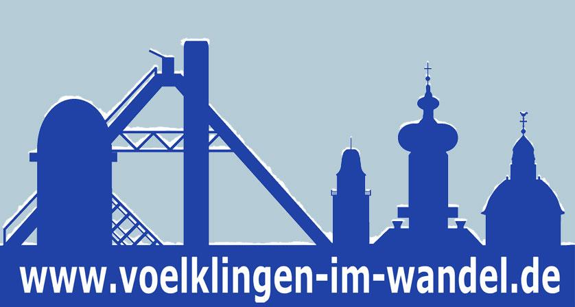 Schnee-Logo Völklingen im Wandel