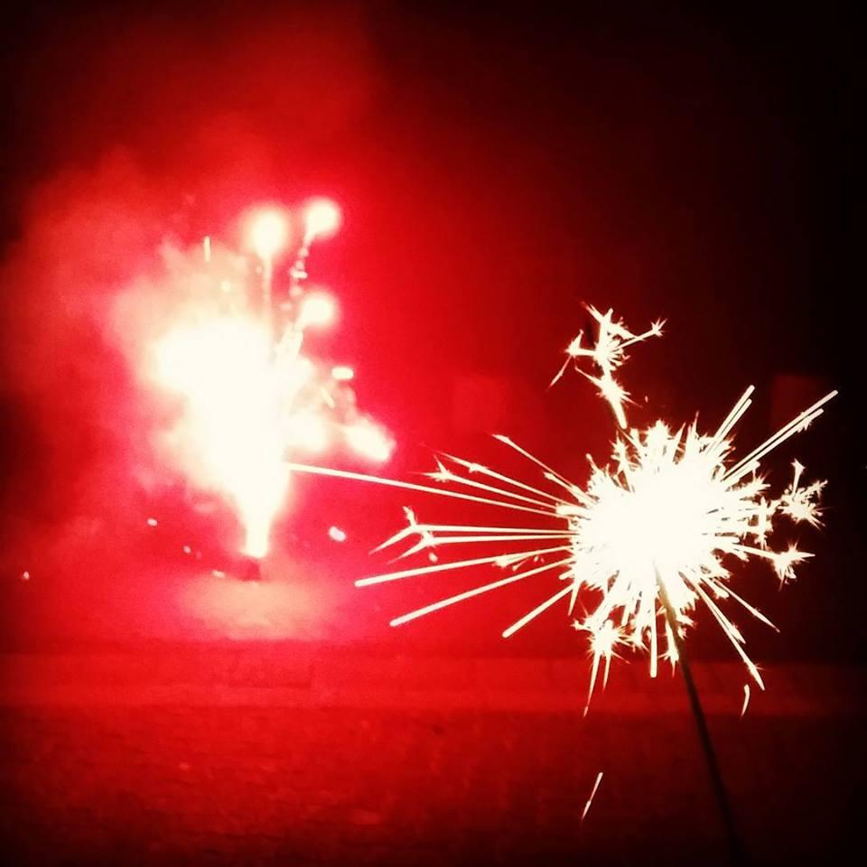 Feuerwerk in der Silvesternacht (Foto: Hell)