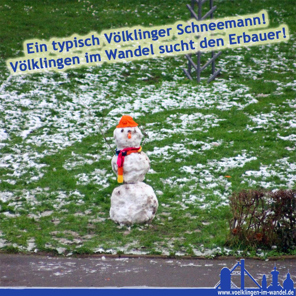 So suchten wir die Schneemann-Erbauer