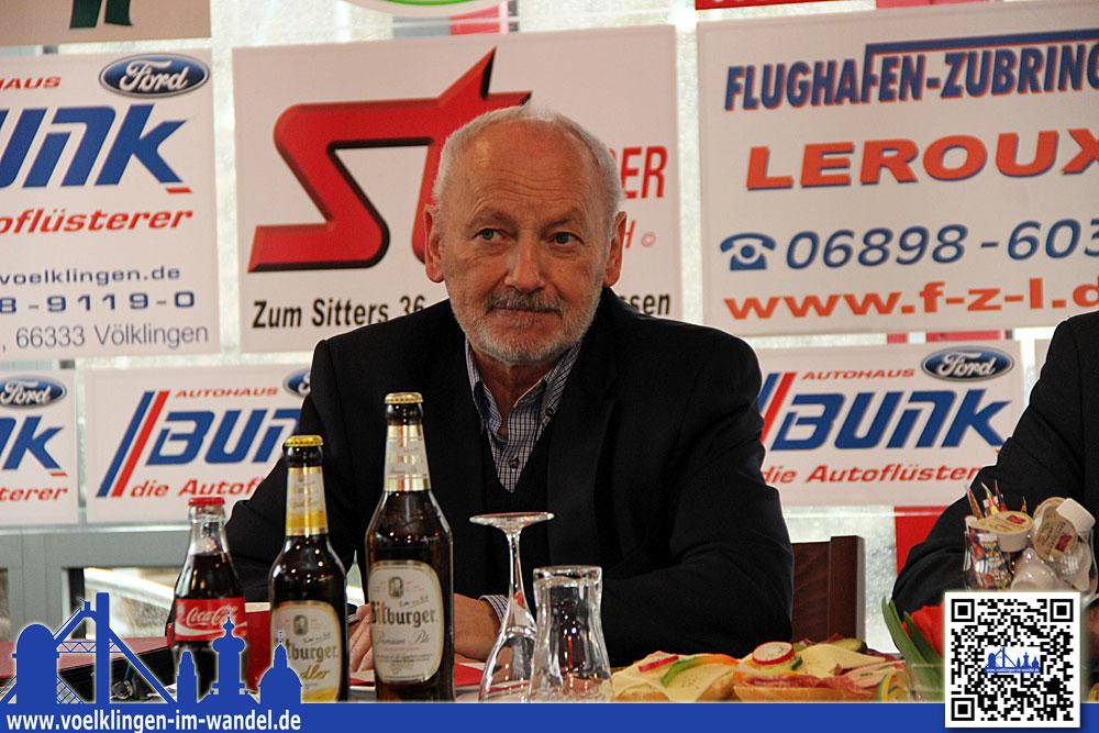 Wolfgang Brenner freut sich auf den Gast (Foto: Hell)