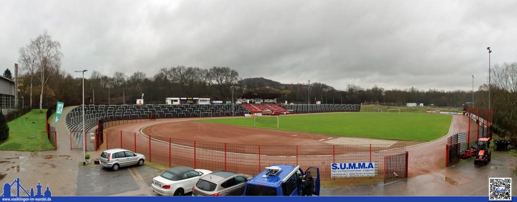 Diesen Ausblick auf den Rasen des Hermann-Neuberger-Stadions dürfen in der Rückrunde die VIP-Gäste des 1.FC Saarbrücken geniesen: Der Mietvertrag ist fix. (Foto: Hell)
