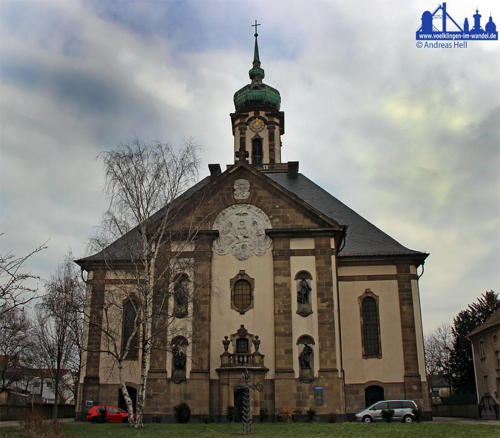 Die Versöhnungskirche in Völklingen (Foto: Hell)
