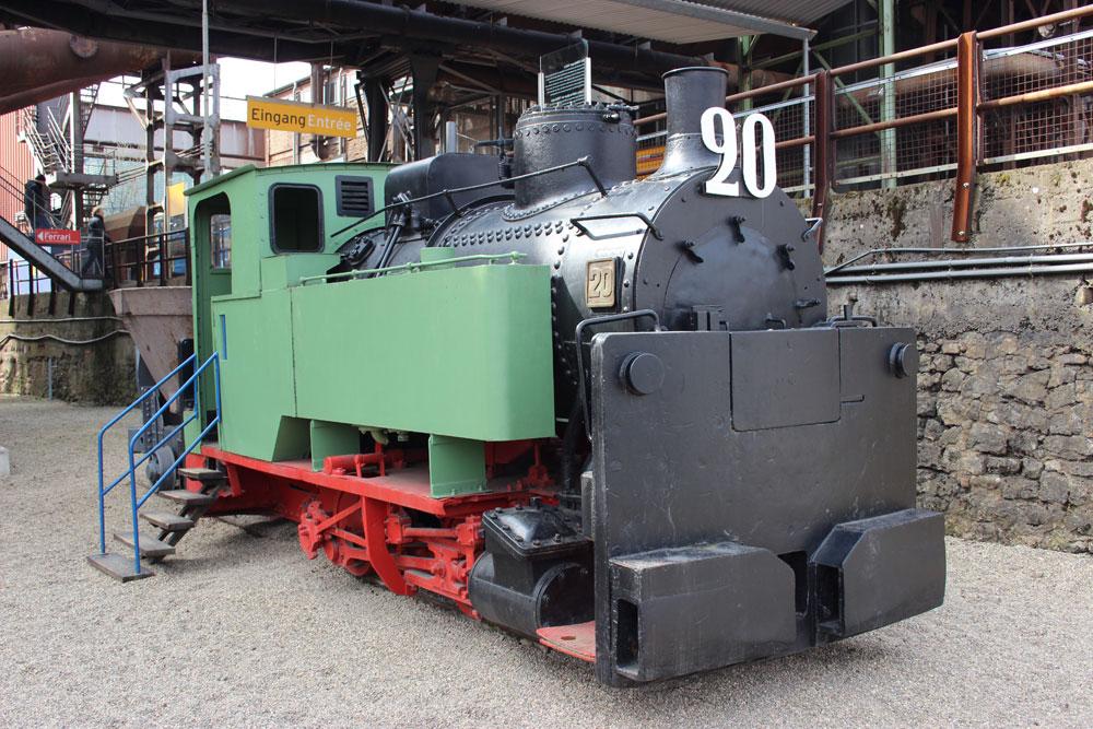 Das ist zwar nicht Molli, aber Lok 20 sieht ihrer Schwester sehr ähnlich (Foto: Hell)