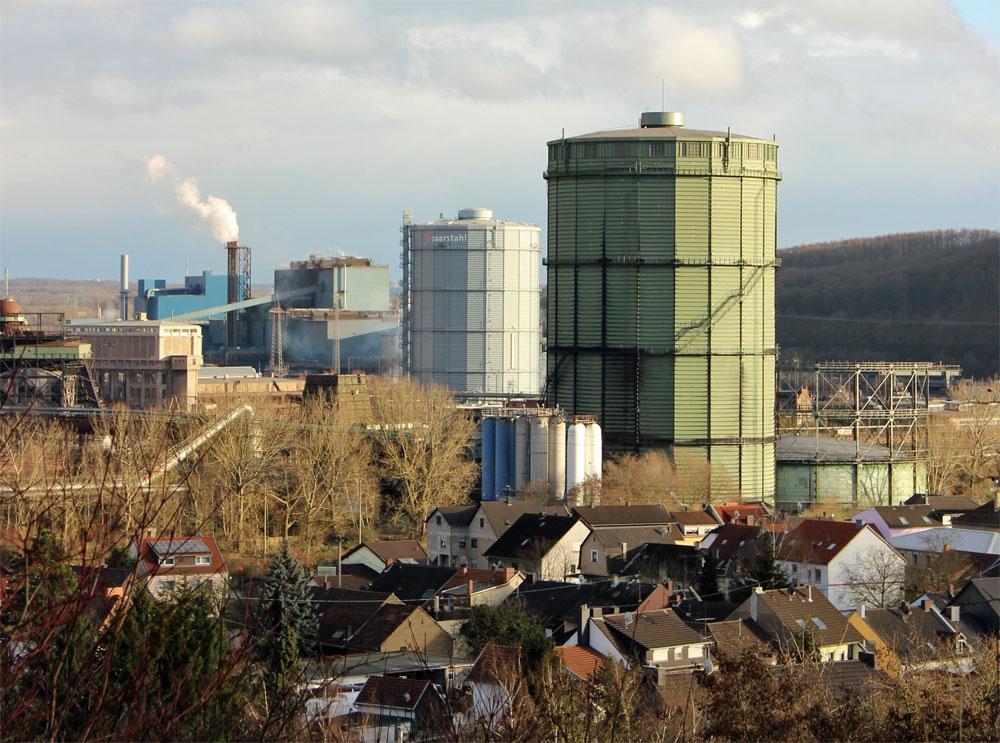 Industriestandort Völklingen (Foto: Hell)