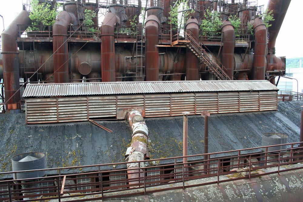 Rückblick: So sah das Dach der Anlage 2011 aus (Foto: Hell)