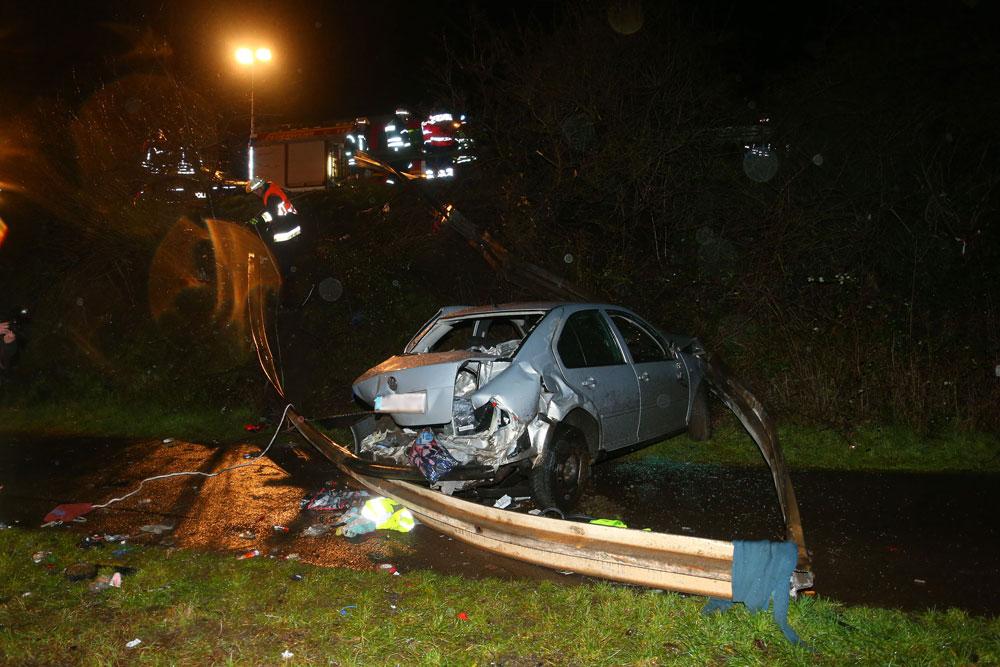Verkehrsunfall auf der A620 (Foto: Avenia)