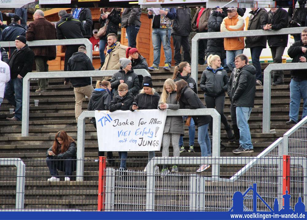 Die Fans wünschen Diane viel Erfolg (Foto: Hell)