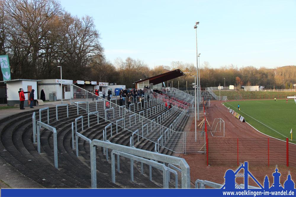 Nach einigen Anpassungsarbeiten ist das Hermann-Neuberger-Stadion bereit für die Regionalliga (Foto: Hell)