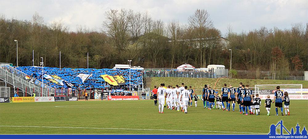 Der 1. FC Saarbrücken ist in der Partie gegen Waldhof Mannheim im Völklinger Hermann-Neuberger-Stadion nicht über ein 1:1 hinausgekommen. Ein leistungsgerechtes Ergebnis - für beide Teams.