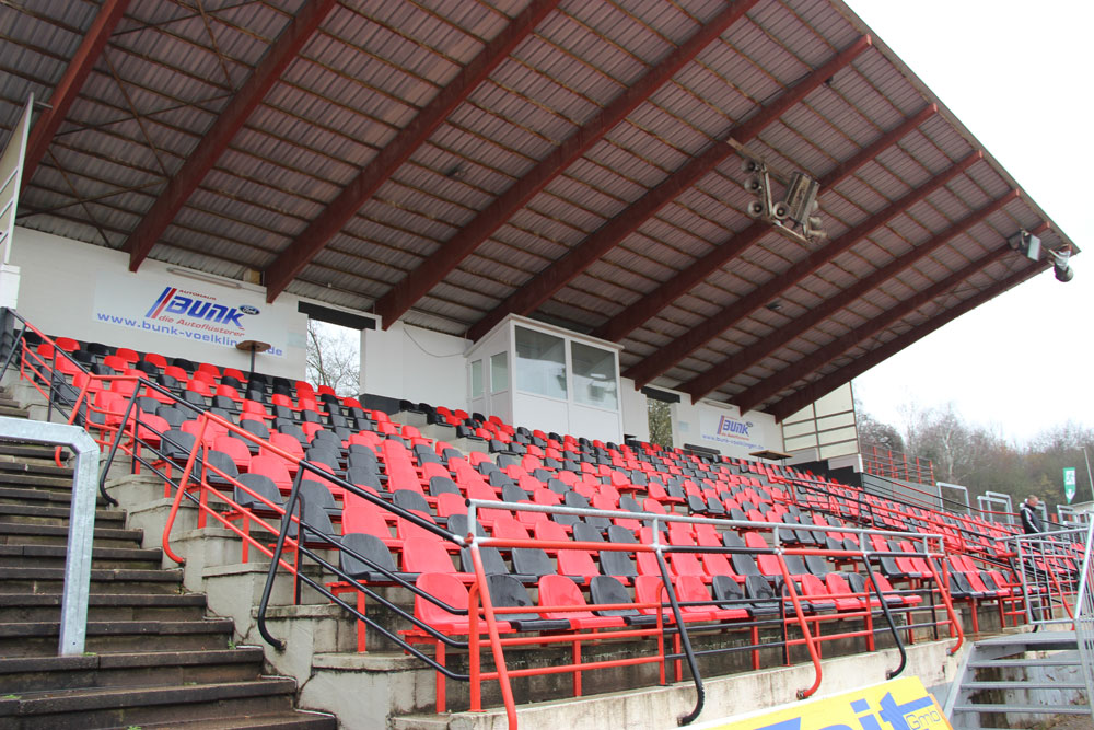 Gegen Trier dürfen nur die Sitzplätze genutzt werden. Bei diesem Topspiel muss der FCS also auf mindestens 3000 erwartete Zuschauer verzichten (Foto: Hell)