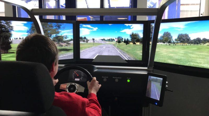 Im Simulator (Foto: Feuerwehr Völklingen)
