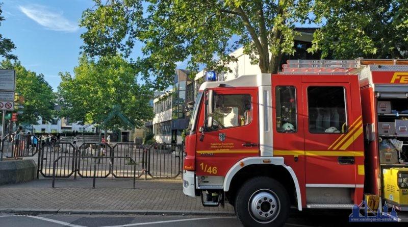 Die Feuerwehr konnte dem Kind schnell helfen (Foto: Hell)