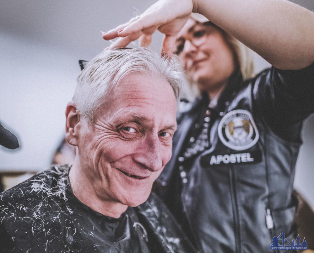 Die Frisörinnen und Frisöre vermitteln den Menschen neues Selbstbewusstsein. Foto:Bernd Ollinger