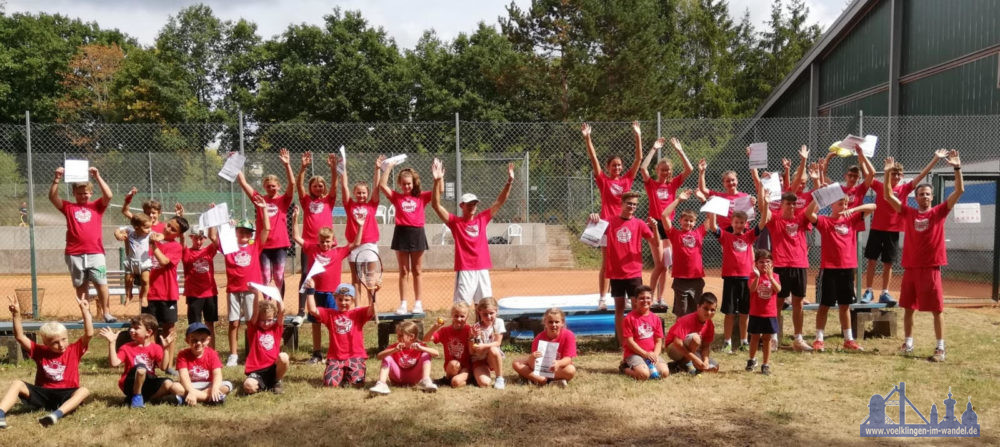 Teilnehmer des TC Heidstock Sommer-Camps 2020 (Foto: Verein)