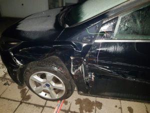 Der Unfallfahrer.....
