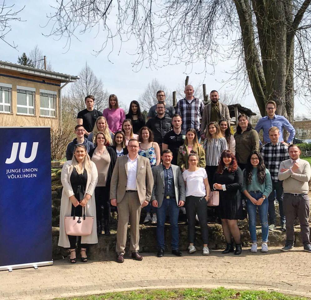 Der neue Vorstand der Jungen Union in Völklingen (Foto: JU Völklingen)