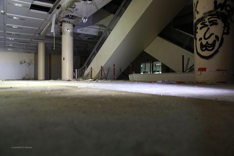 Das Innere des Kaufhofs 2016 - Foto: Dieter Schumann