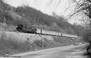 28.03.1968: Bw 78 453 mit P 2831 (Foto: Reinhard Gumbert)