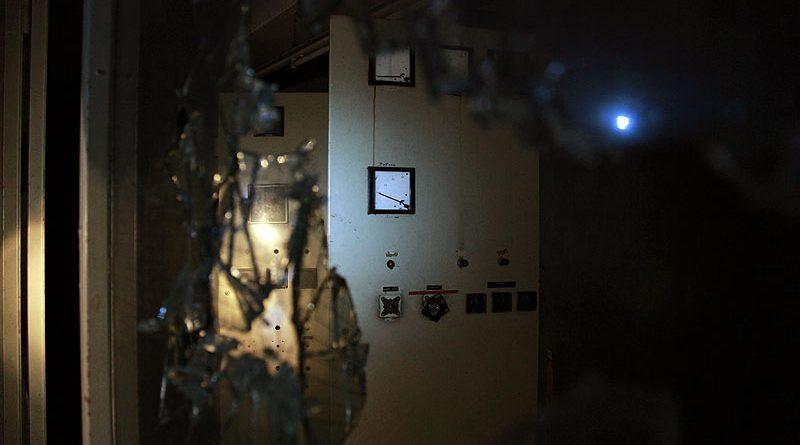 Technik - auch in einem Kaufhof unabdingbar: Zerstört durch Vandalen und Diebe (Foto: Dieter Schumann)