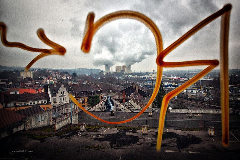 (Kreative) Aussicht aus einem Kaufhof-Büro - Foto: D. Schumann