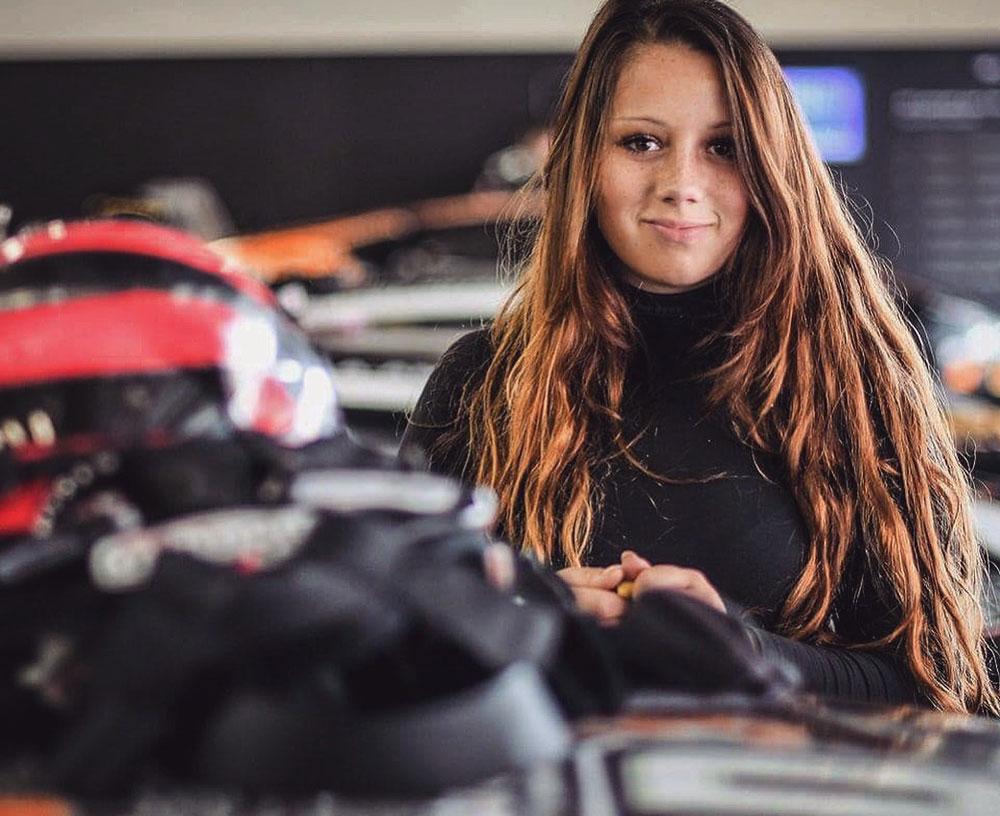 Carrie Schreiner wird zusammen mit Fabian Vettel starten