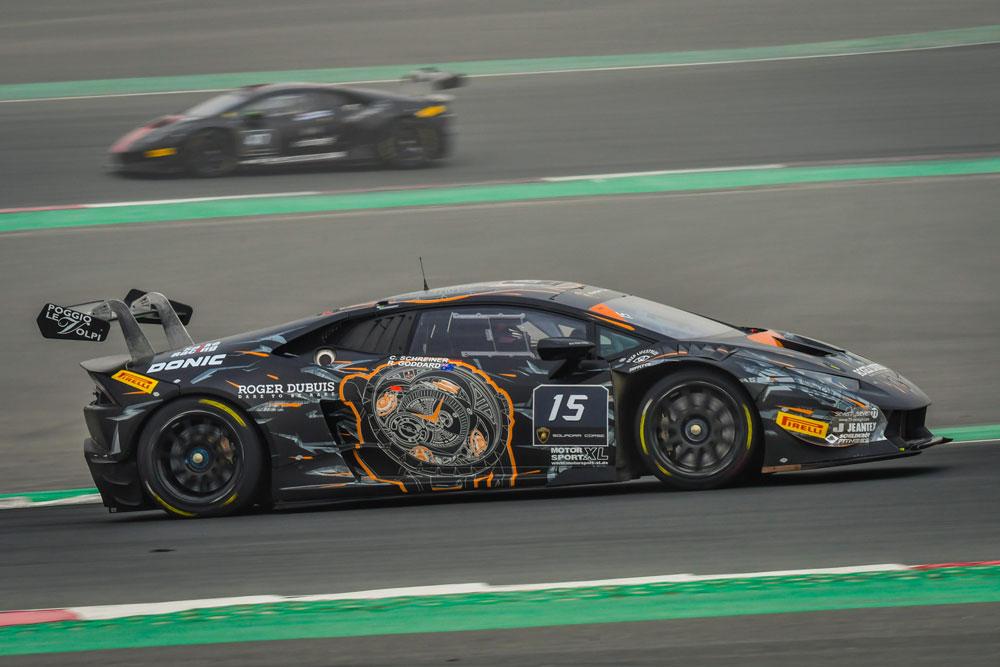 Carrie Schreiner erneut erfolgreich im Lamborghini Super Trofeo Middle East (Foto: motorsport-xl.de)