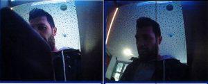 Fahndungsfotos des Unbekannten (Polizei VKL)