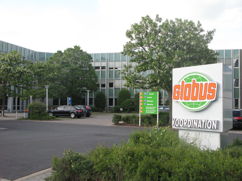 Globus Koordination in St.Wendel (Foto: Globus)