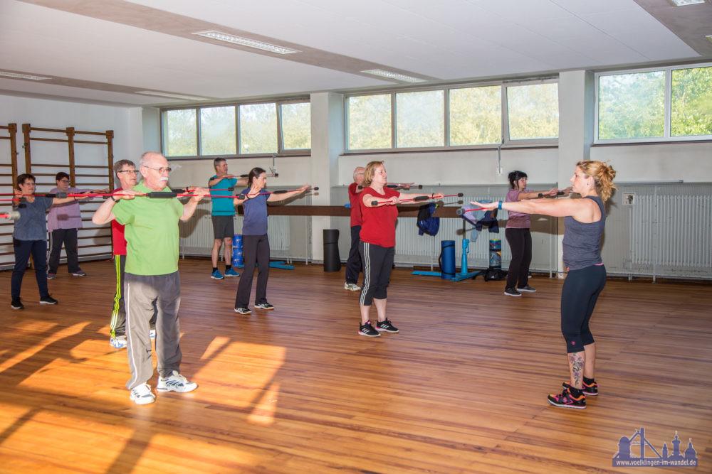 Haltungs- und Wirbelsäulengymnastik (Foto: Stadt)